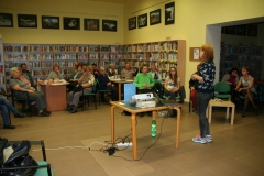 Lecture of Magdalena Ptáková, Ostrava City Library (Medium)