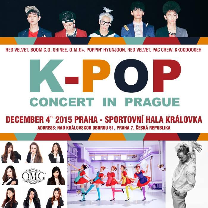 k-pop concert prague 2015