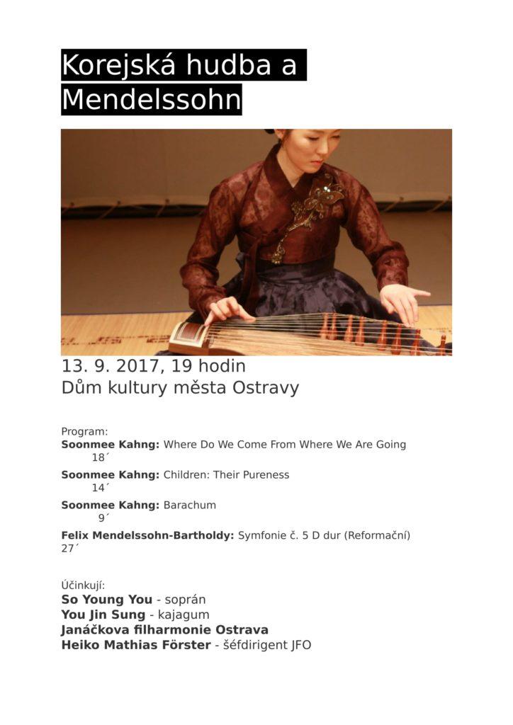 Korejská hudba a Mendelssohn-1