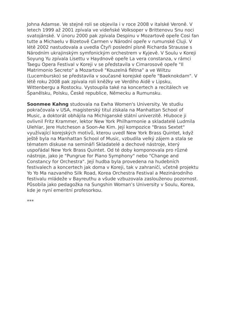 Korejská hudba a Mendelssohn-4